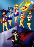 Sailor Moon Group by himeno05