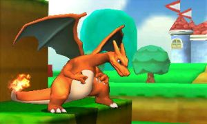 Charizard in 3D Land! by UKD-DAWG