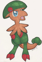 Pokemon: Traditional Breloom by heatbish