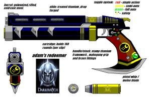 The Darkwatch Redeemer V2.0 by adamnorde583