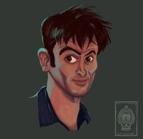 10th Doctor for My Friend by Lopien