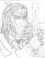 Witcher Pencil Lines by gaetano125