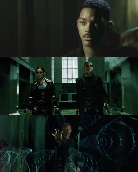 Alternate History: Will Smith as Neo by ImWithStoopid13