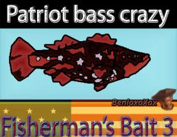 Patriot bass crazy from Fisherman's Bait 3 by BenioxoXox