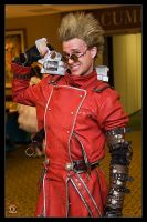 Vash - The Grin of Victory by Kuragiman