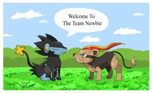 Welcome Newbie by draizor007