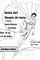 Cartel Salon del Comic by javiergl