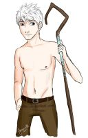Doodle: Shirtless Jack Frost by Oweeo