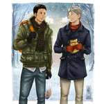 Daichi and Suga by Jeannette11