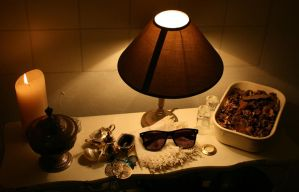 Items and objects in my hall by archibald-butler