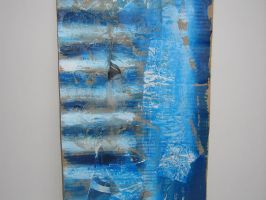 Mixed Media Blu by 3FF3CT