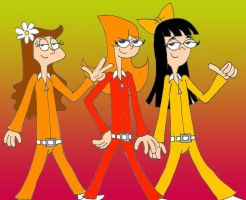 Dylan Carbonell's Phineas and Ferb-Busters by BrigadierDarman