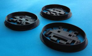 Space Invaders Cookie Cutters by WarpzonePrints