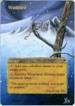 MTG Altered Art: Wasteland - Winter by LXu777