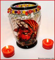 Smaug's Treasure Candle Holder by Bonniemarie