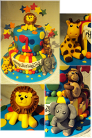 Circus Cake by clvmoore