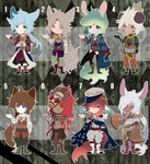 SEPTEMBER ADOPTS 1/8 [OPEN] by kura-ou