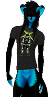 xbox shirt render imvu by birdman91