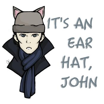 Ear Hat (Print) by ClaraDerps