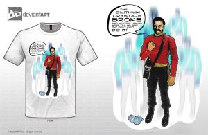 The dilithium crystals broke by paintedbrain-nz