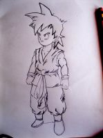 Chibi Teen Goten by micmiguel