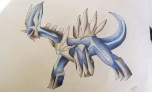 Pokemon-Dialga by Pandaroszeogon