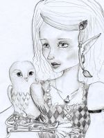 the owl and the elf by SeafaringSarah