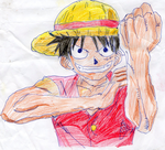Luffy by electrivire98