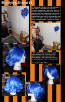 Wig Styling Attempt #2 by tyanimalgirl