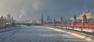 Winter in Moscow by fly10