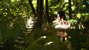 Nidalee Costume 4 PAX 2011 by GinRyu