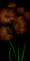 Fleurs Speed painting by black-Khisanth