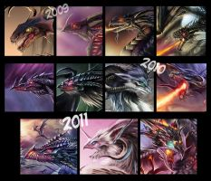 Dragon Art Evolution - Summary by Dragolisco