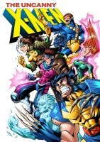 X-Men by Lukali