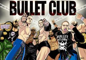 The Bullet Club by BloodySamoan