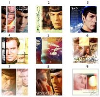 Star Trek Icons 6 by TreeofKnowledge