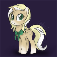 ponysona thingy by Lucy-Redgrave