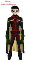 Damian Wayne Young Justice Concept by Bobkitty23