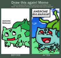 Before And After Meme by thegamingdrawer