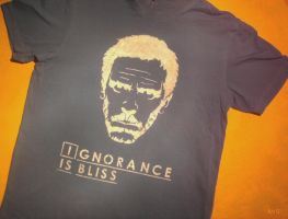 Ignorance is Bliss shirt by heinpold