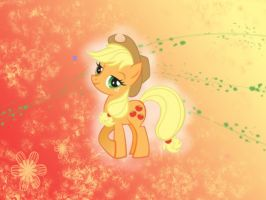 Applejack Wallpaper by Brightshadow813