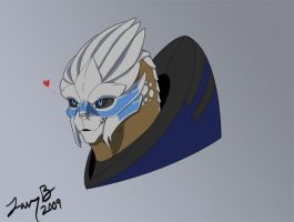 Garrus by hellfirefanatic