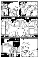 Atomic Robo vs Rasputin Page 3 by Finfrock