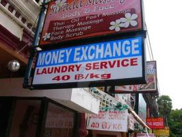 Engrish: Money Launderer by sethness