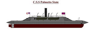 Ironclad Palmetto State by PhantomofTheRuhr
