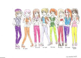 pop girl group.-ocs by i-love-danxian