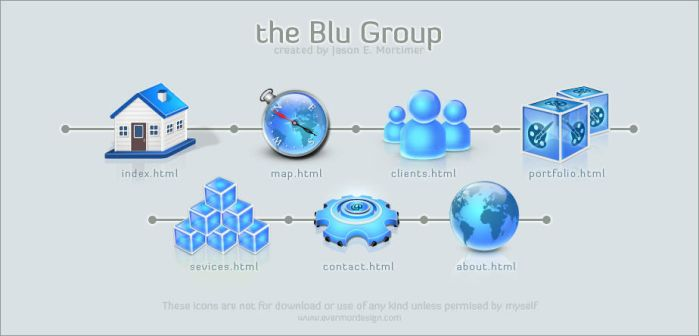 a blu group by Remitrom73