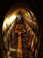 Lincoln Cathedral by goran74