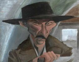 Lee van Cleef by bangalore-monkey