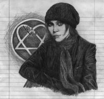 ville valo of HIM by angel-machine